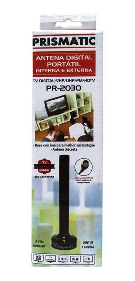 Antena Digital Portátil Ima Prismatic Interna E Externa