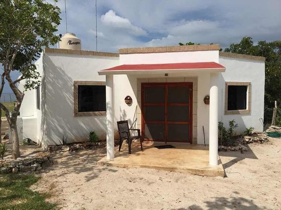 Casa Enfrente Playa En Yucatan