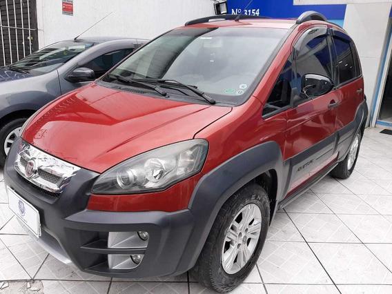 Fiat Idea Adventure Locker 1.8 2011 Vermelha