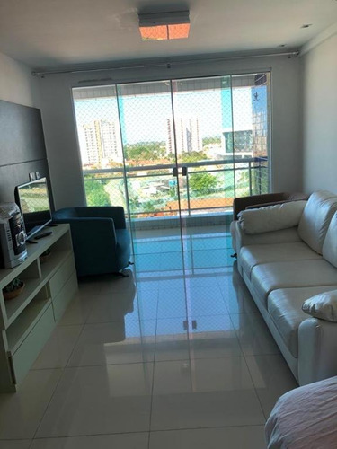 Apartamento Com 3 Dormitórios À Venda, 81 M² Por R$ 530.000,00 - Engenheiro Luciano Cavalcante - Fortaleza/ce - Ap2138