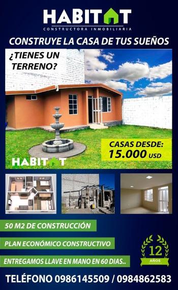 Casas, Construcciones, Economicas, Estructuras Mixtas