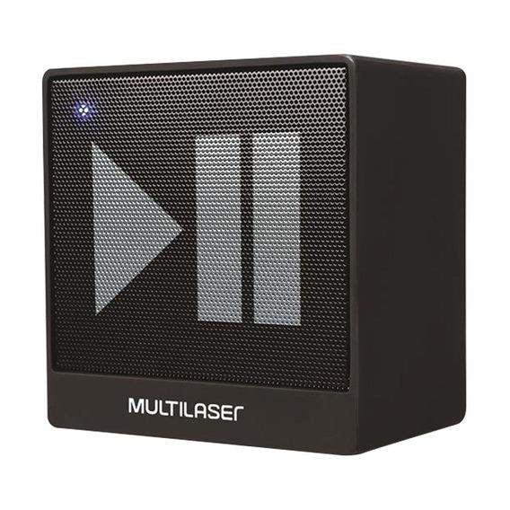 Multilaser Caixa De Som Bluetooth Multilaser Sp277 Preta