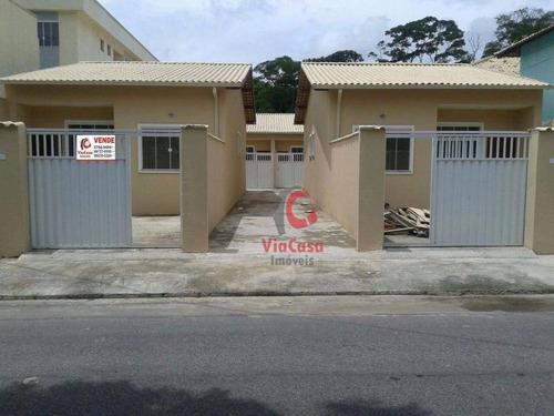 Casa Linear Composta De 2 Suítes - Ca0752