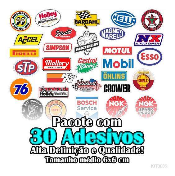 Kit Adesivos De Marcas Antigas 30 Unidades