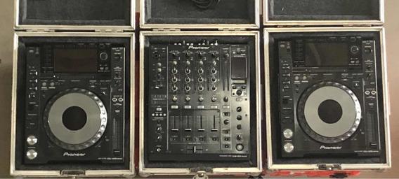 Conjunto Cdj Pioneer Nexus 2000