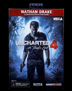 Figura Neca Uncharted 4 Nathan Drake Ultimate Edition