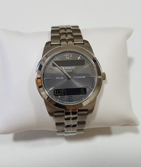 Relógio Tissot Pr50 Titanium