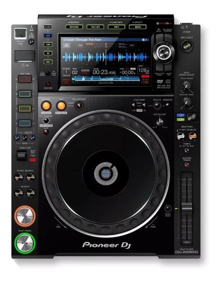 Pioneer Cdj 2000 Nxs2 Nexus Envio Imediato Zero