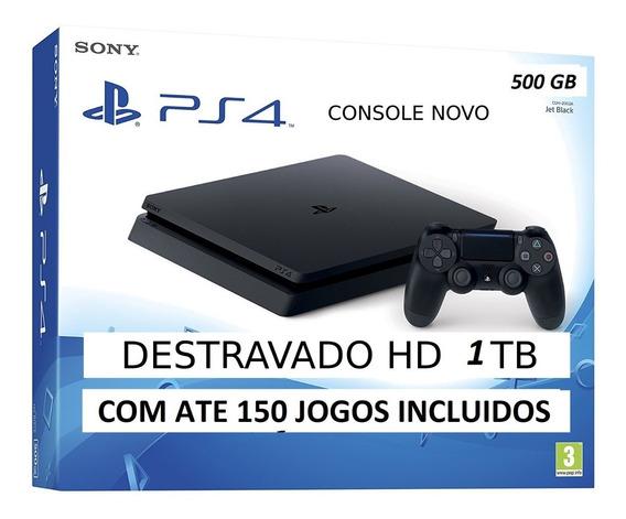Ps4 Playstation 4 Ps4 Slim 5,05 + Hd 1tb Des+tra+vado