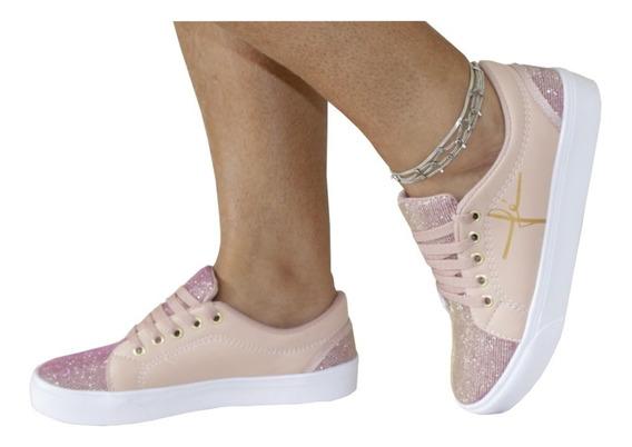 Calçado Feminino Tênis Sapatênis Nrg Moda 2020