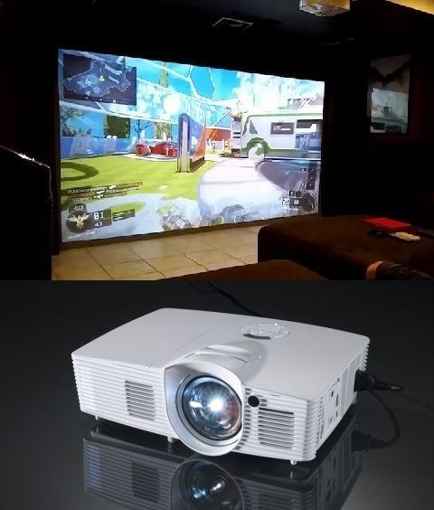 Projetor Optoma Gt1080 Darbee 3d Dlp Short - Melhor Que 4k!!