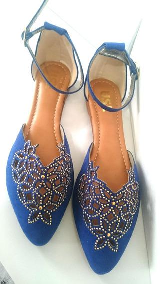 Sandálias Luxuosas Alto Requinte Confort