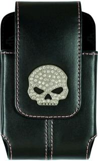 Harley Davidson Case Capa Porta Celular iPhone Outros Skull