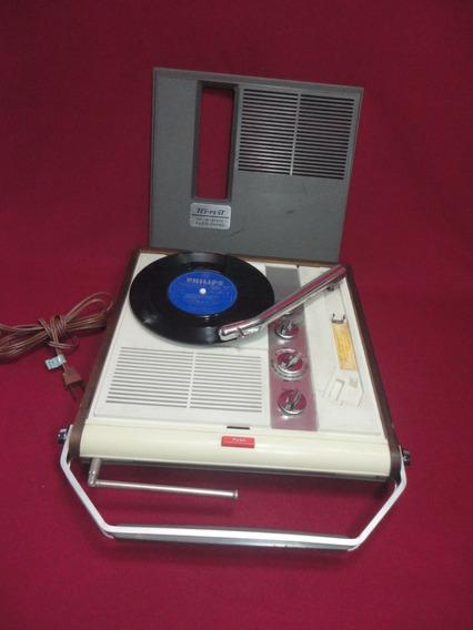 Rádio Vitrola Portátil Tempest Funciona Am Fm Made In Japan