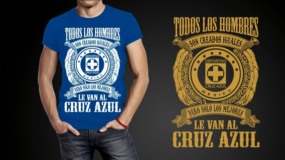 Playeras Pocos Le Van Al Cruz Azul