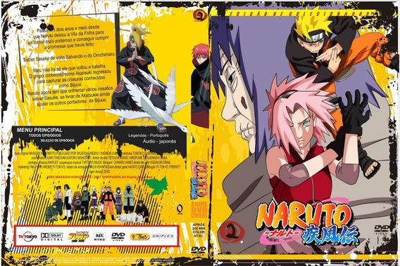 Dvd Naruto Shippuden Dublado E Legendado