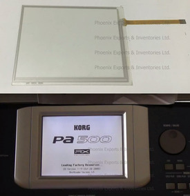 Promoçao Tela Touch Screen Teclado Korg Pa500,frete Gratis