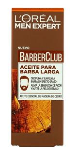 Aceite Para Barba Loreal Men Expert Barber Club X30 Ml