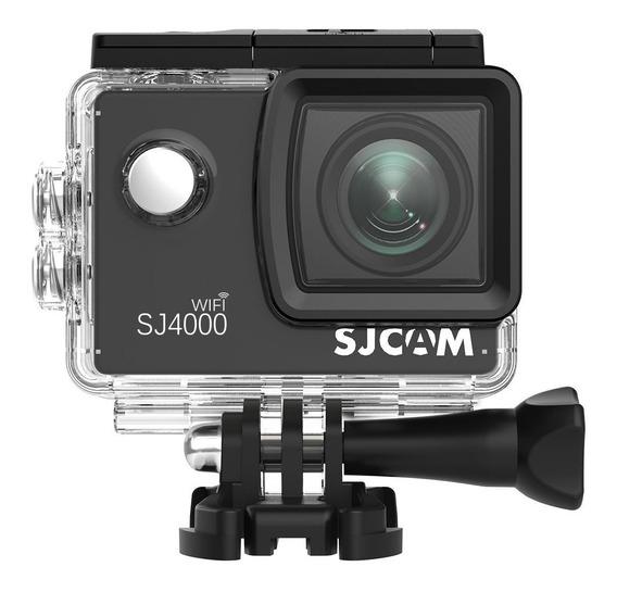 Câmera Sj4000 Wifi Sjcam Original Esporte 2inch 12m Remoto Full Hd 1080p Prova D