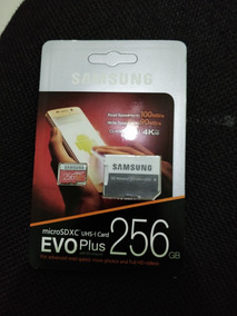 Micro Sdxc Uhs-i Card Evo Plus 256 Gb