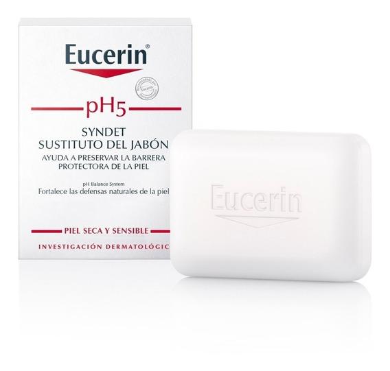 Eucerin Ph5 Syndet Jabón X 100g Barra Limpiadora