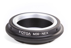 Anel Adaptador Mount Lente Leica L39 / M39 P/ Sony E-mount
