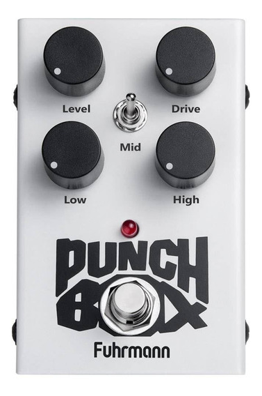 Pedal Fuhrmann P/ Guitarra Punch Box Pb-02