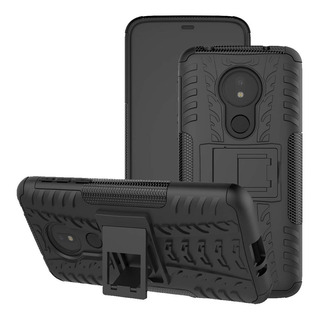 Capa Anti Impacto Motorola Moto G7 Power+pelicula Vidro 3d
