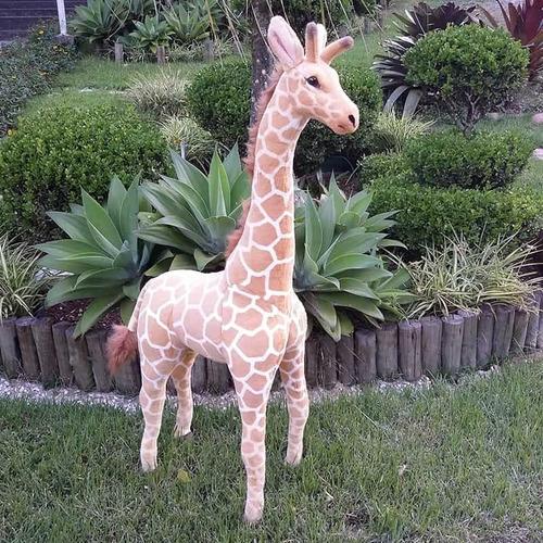 Girafa De Pelúcia Safari - Gigante 120cm Maravilhosa!!!!
