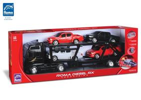 Caminhão Cegonha Rx - Preto