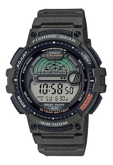 Reloj Casio Fishing Gear Ws-1200h-3 Sports Gear