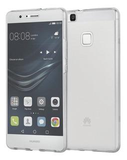 Funda Tpu Ultra Slim Huawei P9 Lite + Vidrio Templado