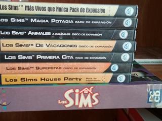 Los Sims - Coleccion Completa - Pc