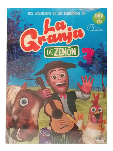 Las Canciones De La Granja De Zenon Dvd+ Cd