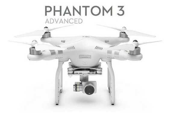 Drone Dji Phantom 3 Advanced Novo Envio Imediato