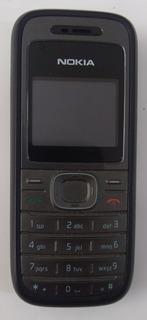 Lote 9 Celular Nokia 1208 Desbloqueado Semi-novo