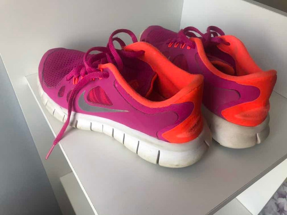 Tênis Nike Free 5.0 Feminino Tam N. 4.5 Usa Aqui Brasil N.33
