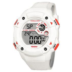 Relógio Technos Inter Oficial Branco C Vermelho Int1360/8