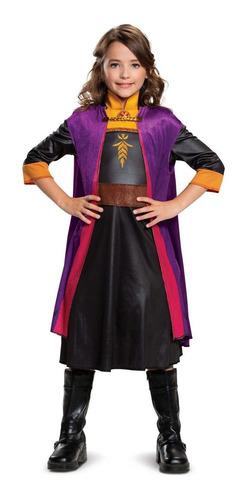 Disfraz  Talla 4-6x De Anna Frozen 2 Para Niña- Halloween