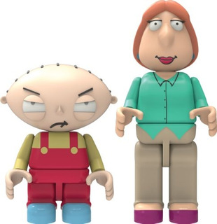Knex Family Guystewie Y Lois Figuras Edificables