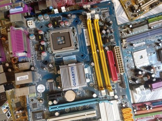 Placa-mãe Ddr2 Socket 775 Com Defeito. Várias Marcas E Model