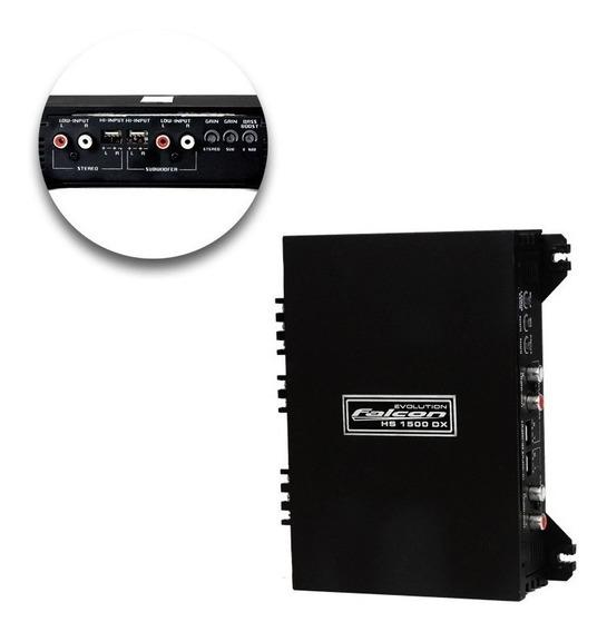 Modulo Amplificador Hs1500 Dx 3 Canais 2 Stereo 1 Mono