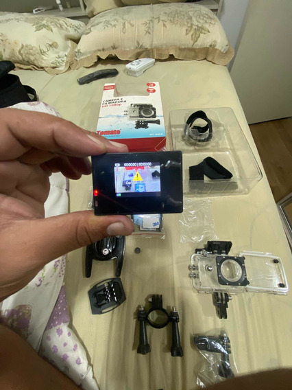 Câmera Tomate Usada. Filma 1080