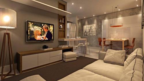 Apartamento Com 2 Dormitórios À Venda, 57 M² Por R$ 397.500,00 - Vila Operária - Itajaí/sc - Ap0600