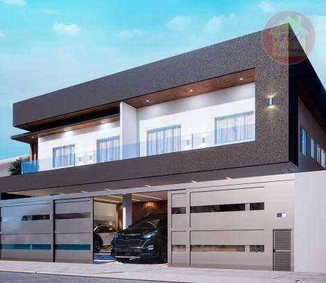 Casa Com 2 Dormitórios À Venda, 55 M² Por R$ 260.000 - Mirim - Praia Grande/sp - Ca1358