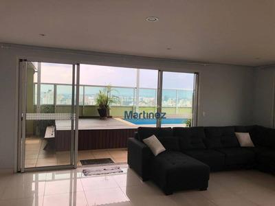 Cobertura Com 3 Dormitórios À Venda, 275 M² Por R$ 3.300.000 - Brooklin Paulista - São Paulo/sp - Co0008