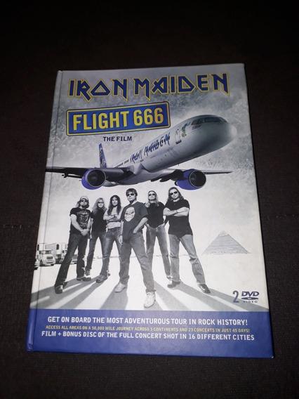 2 Dvd Iron Maiden - Flight 666 Deluxe Edition Digibook