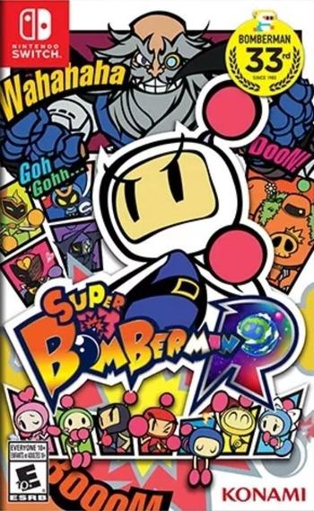 Super Bomberman R Nintendo Switch - Frete Grátis Todo Brasil