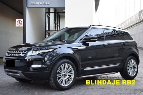 Land Rover Range Rover Evoque Prestige Plus Rb2 Blindada