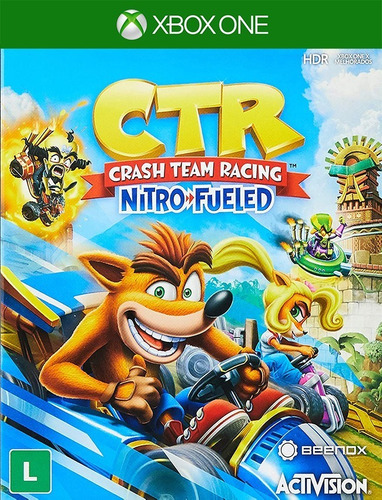 Crash Team Racing Nitro Fueled Xbox One - 25 Díg (envio Já)